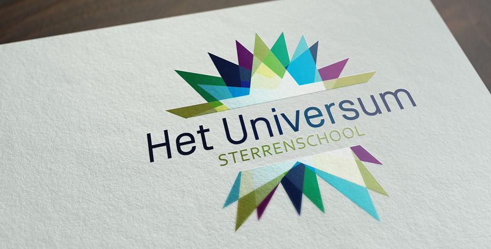logo almeerse scholen groep design huisstijl basisschool kleurrijk