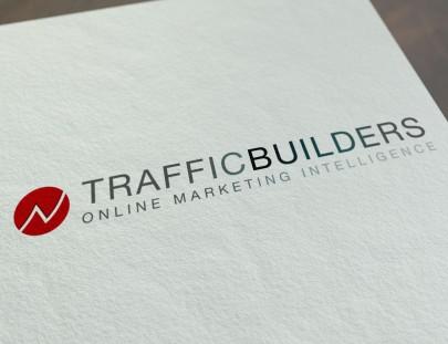 Het nieuwe logo voor Traffic Builders