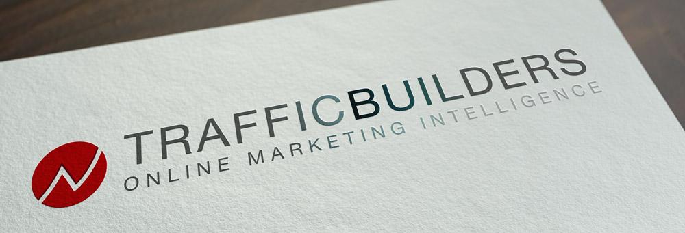 Nieuwe logo design 2014 voor Traffic Builders