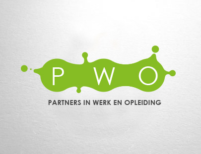 PWO logo ontwerp