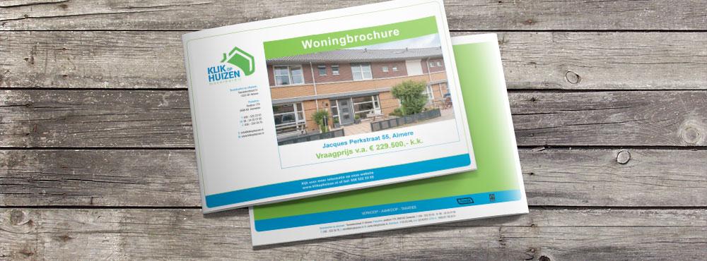 Huizen Brochure Klik op Huizen Makelaardij