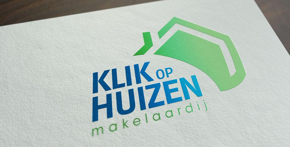 Nieuwste logo design voor Klik op Huizen Makelaardij